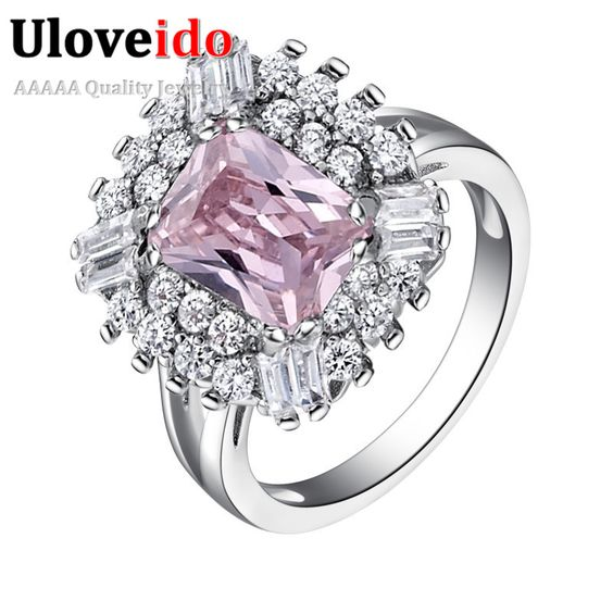 Find More Rings Information about 50% off Famous Purple Rings for Women Nickel Free Jewelry Acessorios with Created Diamond  Vintage Bague and Anel Ulove J550,High Quality jewelry coating,China jewelry amazon Suppliers, Cheap jewelry gifts for women from ULOVE Fashion Jewelry on Aliexpress.com