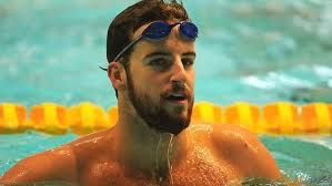 James Magnussen in Manchester god bless Olympic swimmers:)