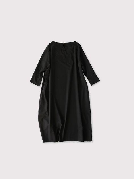 Long balloon dress 2~wool 2