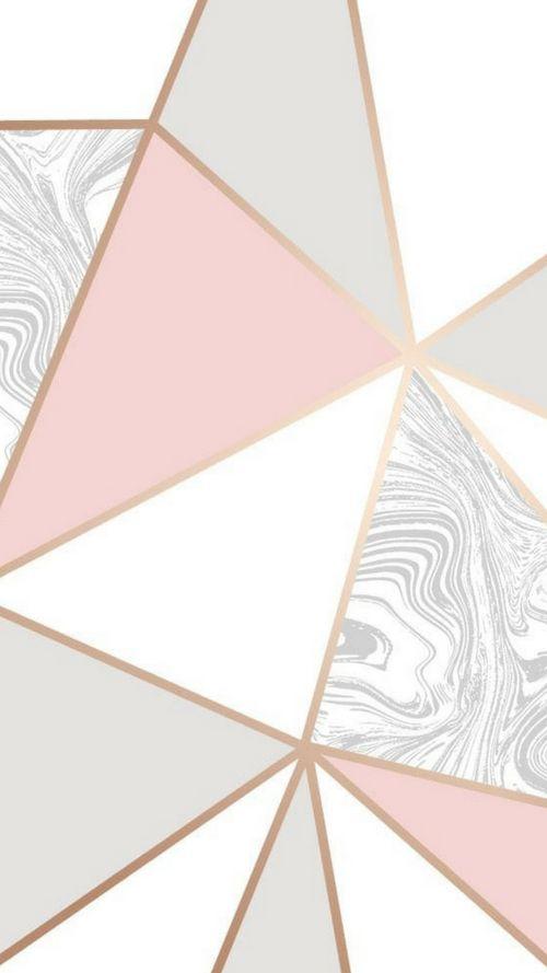 Zara Marble Metallic Wallpaper Soft Pink Rose Gold In 2020 Gold