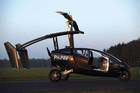 Flying car PAL-V is tested; Terrafugia Transition in the wings