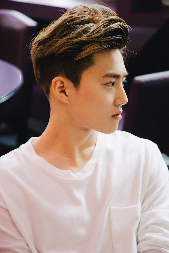 """""""___________s are the ones who keep faith with the past, keep step with the present, and keep the promise to posterity. - Harold J. Seymour"""" SUHO_EXO Teaser Call Me Baby 2015"""