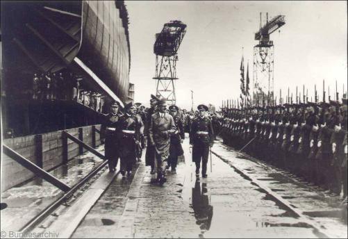 Stapellauf Scharnhorst