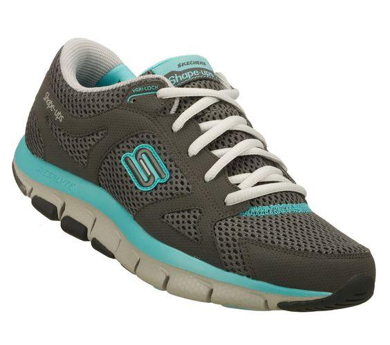 NEW SKECHERS Women Fitness Sneaker Sport Shoes LIV-SMART Charcoal | eBay