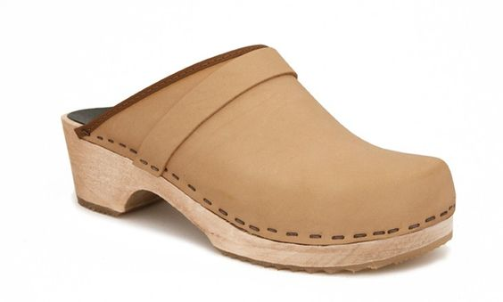 63 plain clog natural veggie - clogs & sandals