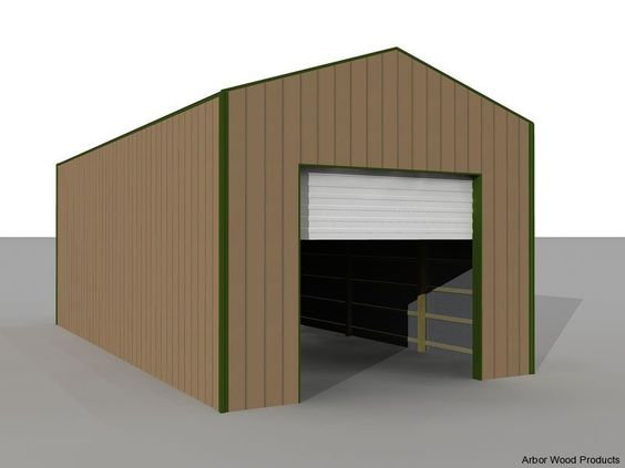 Rv storage buildings rv garage kits on rv shelter rv for Motorhome storage building