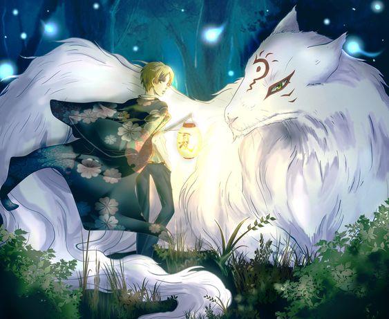 anime fox spirit wallpapers - photo #2