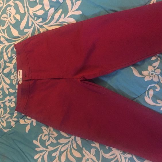 NWOT Highrise American Apparel Jeans NWOT Red Highrise American Apparel Skinny Jeans American Apparel Jeans Skinny