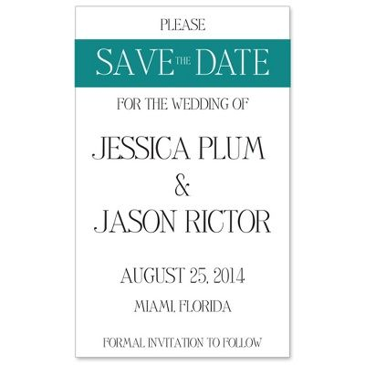 Shop Simply Bridal | Color Band Save the Date Magnet