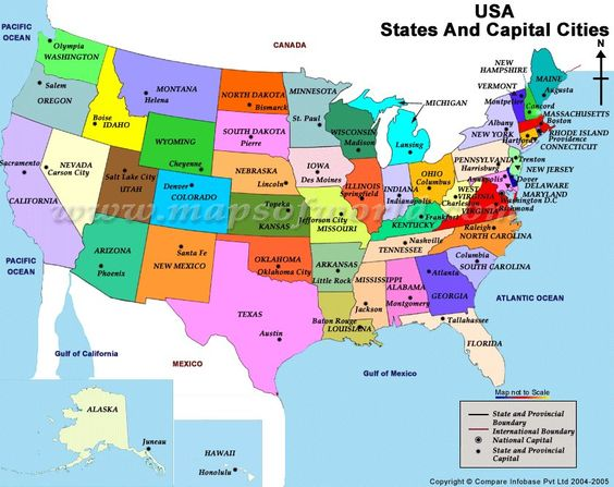 map of the usa with city names Google Search – Usa Map Google