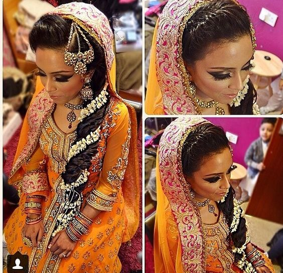 Mehndi Hairstyles With Flowers : Pinterest the world s catalog of ideas