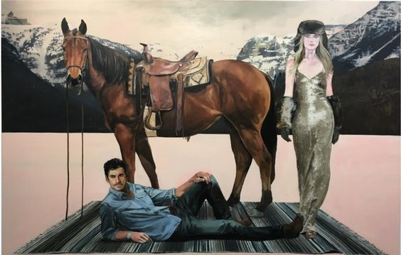 VISIONS WEST CONTEMPORARY proudly announces the exhibition WESTERN CINEMASCAPE, featuring the works of local artist TRACY STUCKEY.