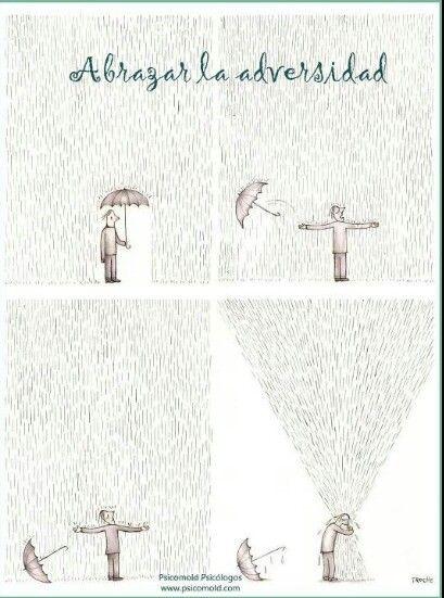 Abrazar la adversidad
