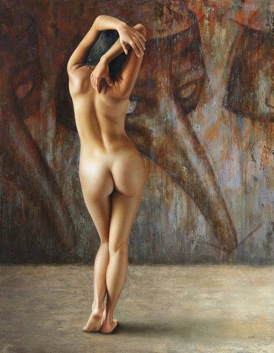 Hyperrealistic Nude Paintings by Omar Ortiz - mashKULTURE: