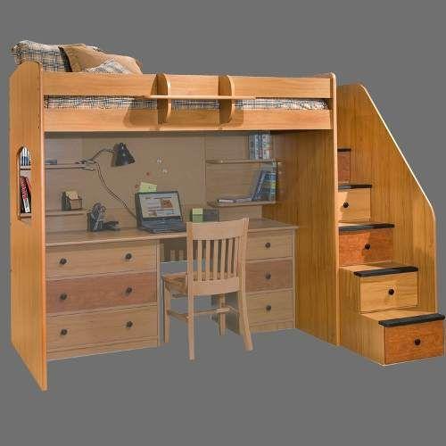 Camas con escritorio buscar con google ideas casa for Cama nido con escritorio