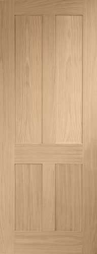 Plain door....so I can stain it whatever color I want
