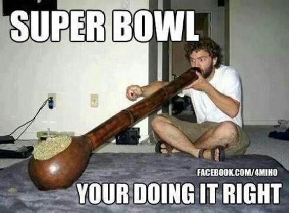 Image result for super bowl Pot pipe