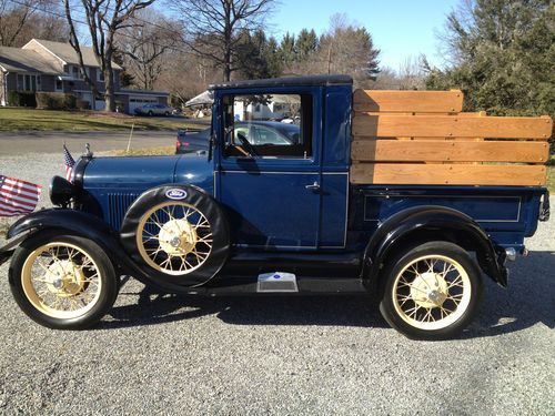 1929 Ford Model A Pickup Quarter Ton Ford Models Classic Cars Vehicles
