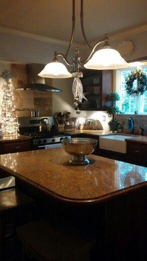 Maureen Porette Home Christmas Kitchen 2014