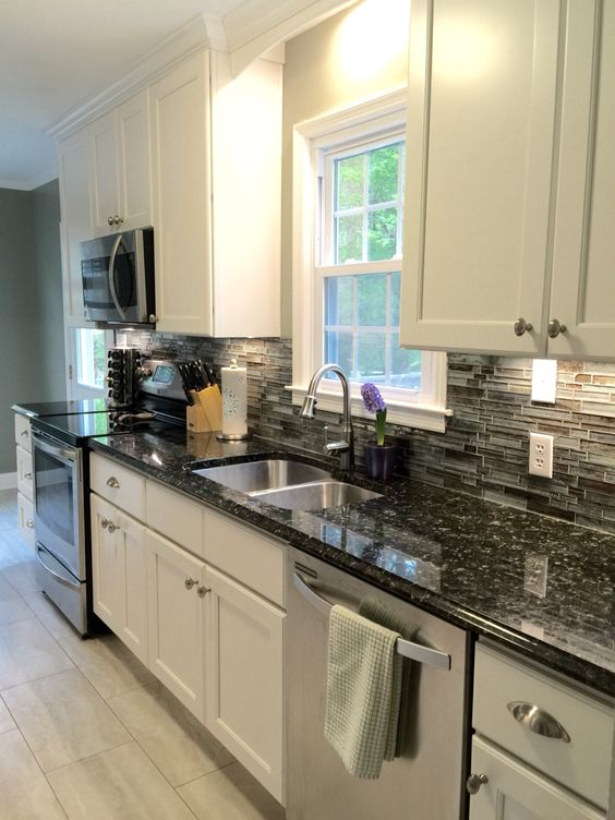 Beautiful kitchens allen roth and kitchen renovations on for Cost to update kitchen cabinets and countertops