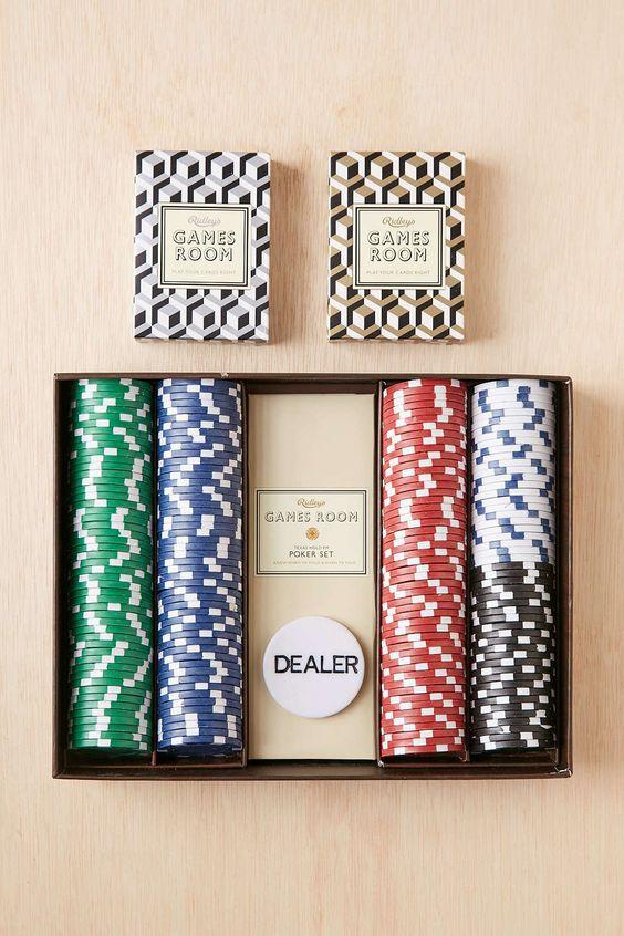 Ensemble de jeu de poker Texas Hold'Em: