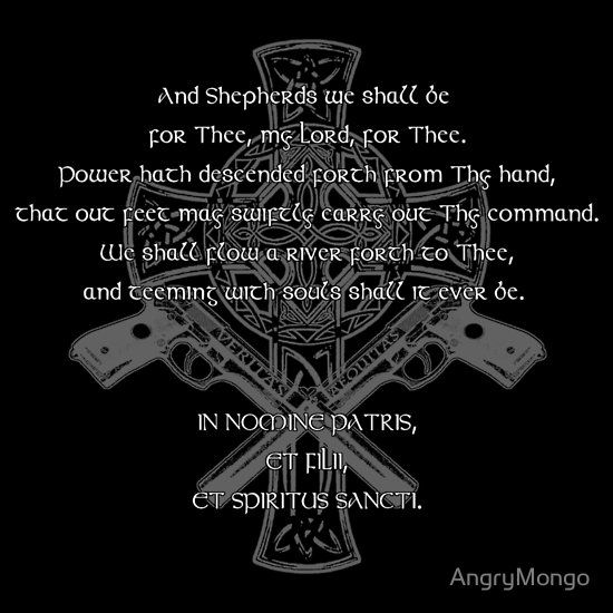 Boondock Saints Prayer...
