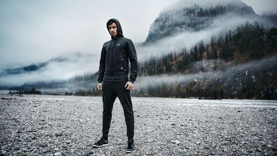 Zipper hoodie for men. Don't let bad weather to be an excuse. Shop more ► frltcs.com/ShopNow