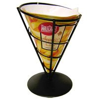 #Diner style Appetizer Cone w/ Liners - for fries, shrimp & more  http://www.retroplanet.com/PROD/36103