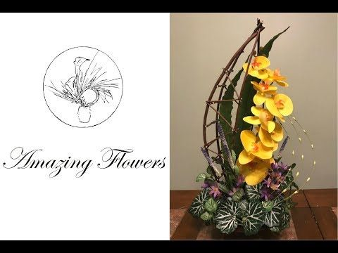 Youtube Flower Arrangements Simple Orchid Arrangements Amazing Flowers