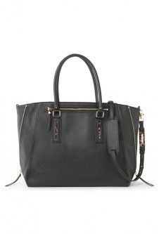 Madison Tech Bag - Black, on sale for $94.80. Check out the cute pink and black polka dot lining!