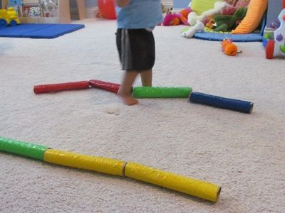 How to make Toddler Tubes from Teach Preschool