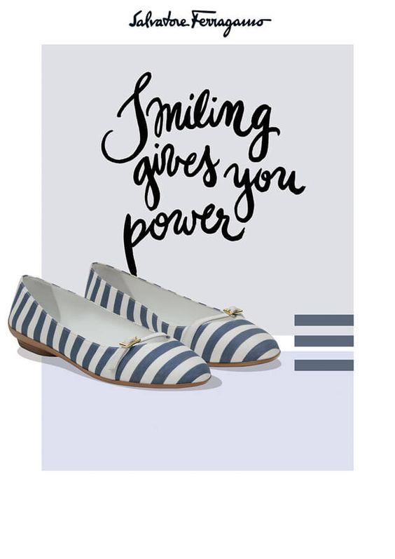 Salvatore Ferragamo Ballerina Shoes SS 2015