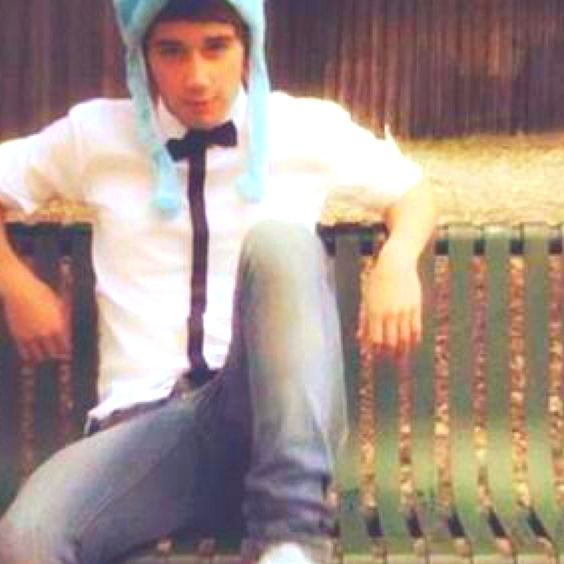 Janoskians! my friend Cara's boyfriend. They are so cute together! awh :') <3