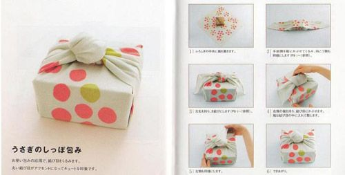 Furoshiki. Japanese Technique Of Wrapping Presents (28 pics)