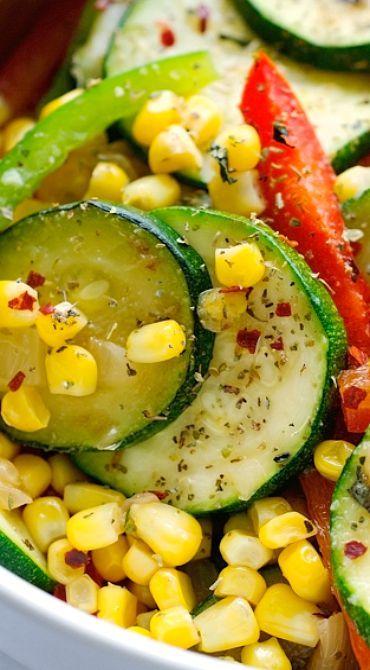 Corn and Zucchini Saute | Recipe | Zucchini