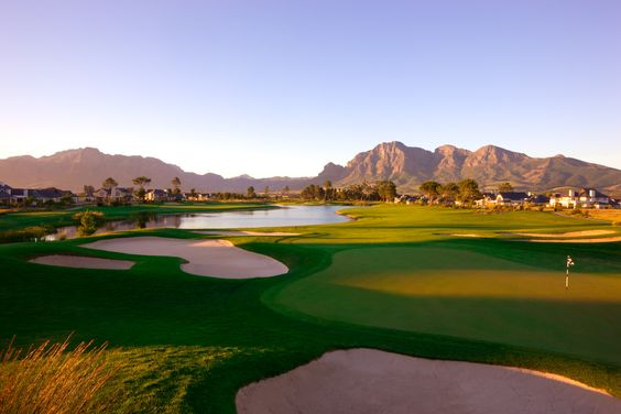 Pearl valley Golf Estates in South Africa , breathtaking