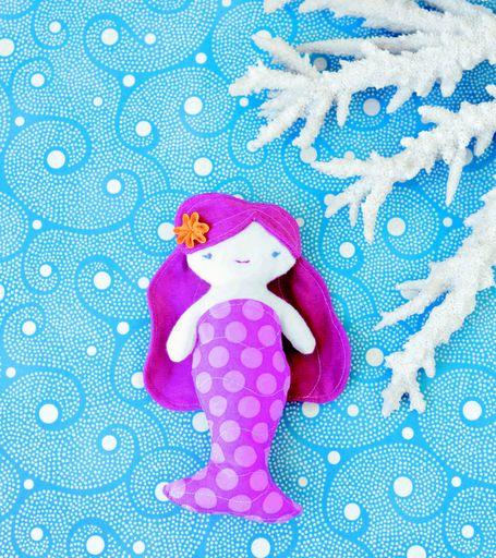 mermaid tutorial: Wee Wonderful, Free Pattern, Sewing Pattern, Doll Patterns, Sewing Idea, Rag Doll, Mermaid Dolls