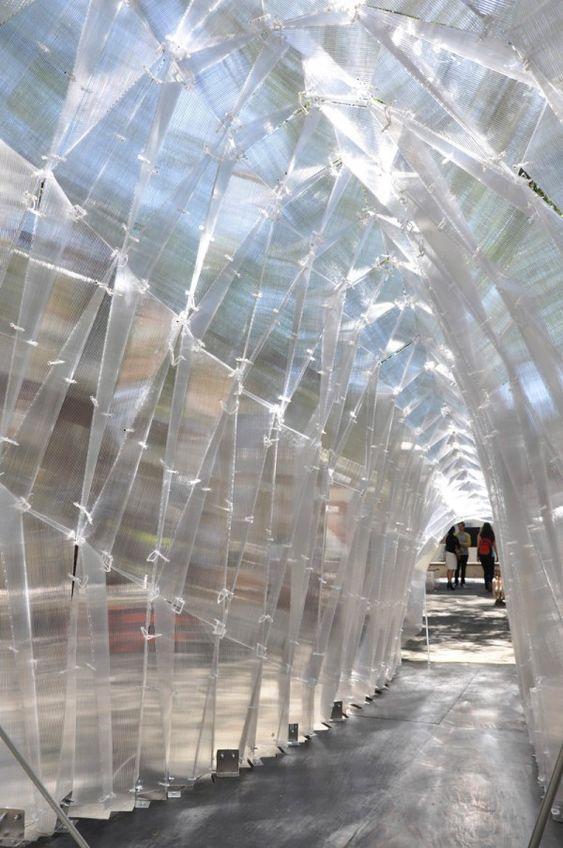 Polycarbonate Pavilion at USC School of Architecture, 2013: