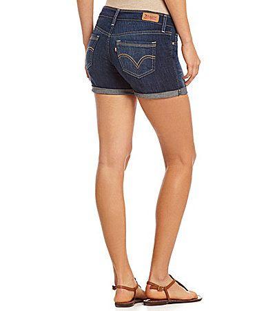 Levis Denim MidLength Shorts #Dillards