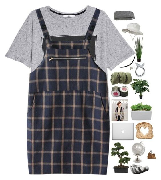 """""""⋆ ✧ YOU TOLD HER THE SAME THING ⋆ ✧"""" by nightcatcher ❤ liked on Polyvore featuring MANGO, Nearly Natural, Pull&Bear, Flamant, Areaware and Crate and Barrel"""