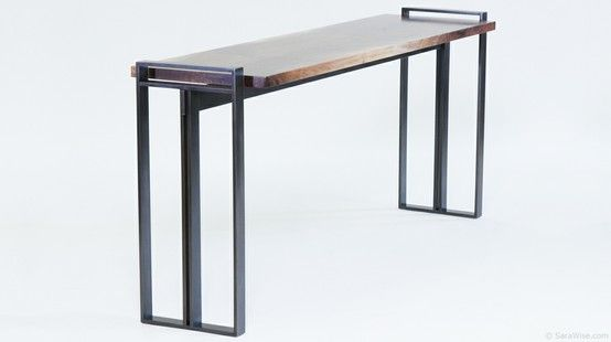 Sara Wise Design Hourglass Console Table