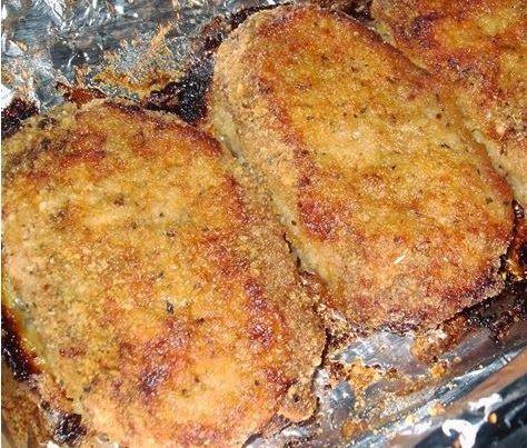 Parmesan Baked Pork Chops | C4 II