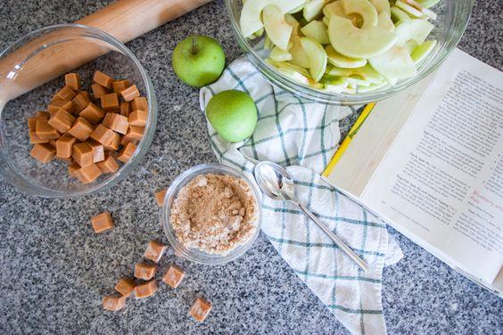 Easy As Caramel Apple Pie-One Little Minute Blog-8