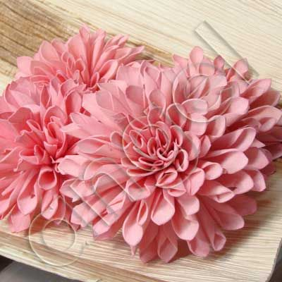 Ice-pink Dahlias...more favourite blooms