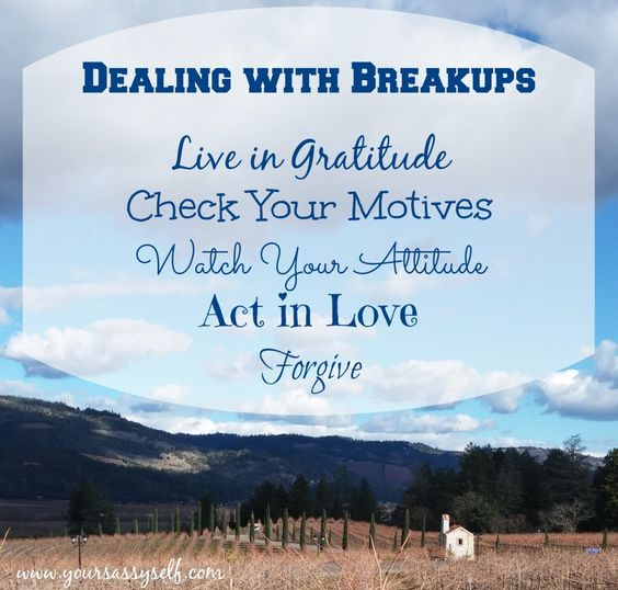 Dealing With #Breakups can be difficult, but not impossible. Check out why here » YourSassySelf.com