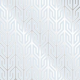 Use wallpaper for a splash of unexpected style in overlooked places. Featuring the Jonathan Adler Jaipur Wallpaper.