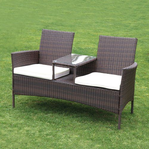 Leonora 6 Piece Rattan Sectional Seating Group With Cushions