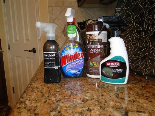 Can i use windex on my granite countertops the best ways for Best way to clean slabs