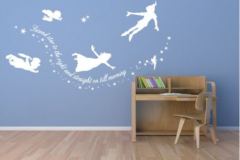 Peter Pan Wall Decals This Will Definitely Be In My