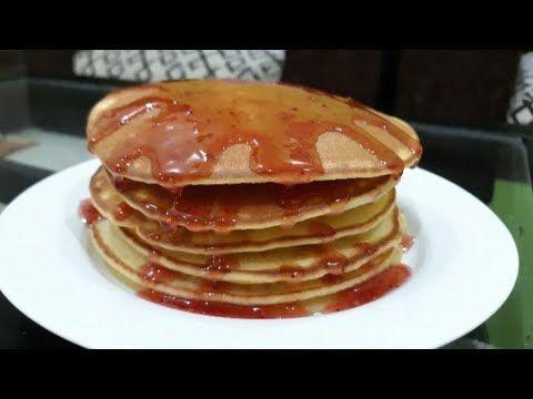 Pancake Simple Lembut Dan Enak Cara Mudah Membuat Pancake Youtube Resep Masakan Resep Masakan